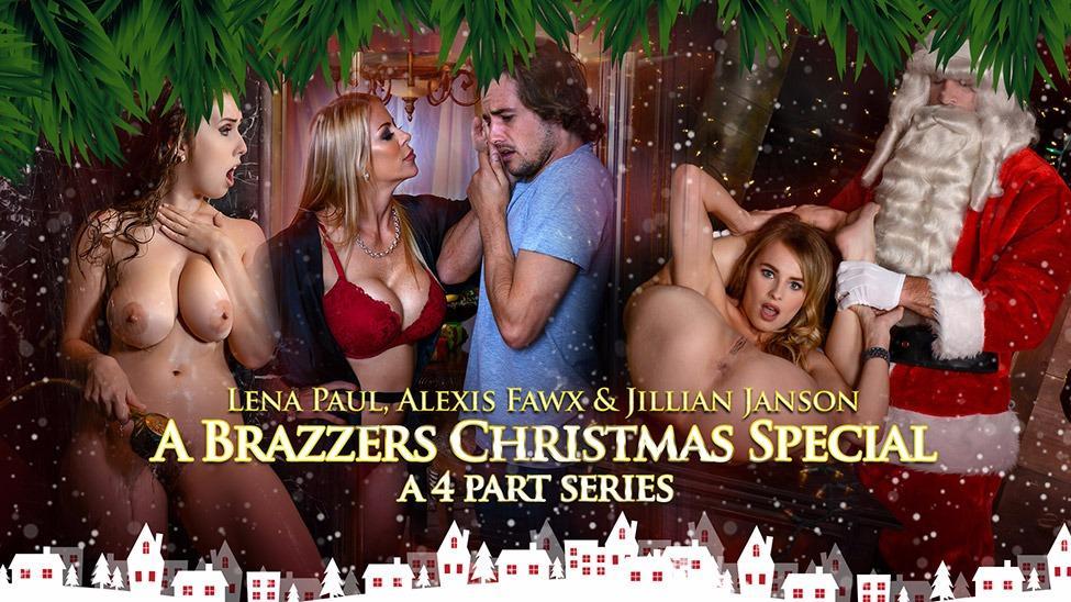 A Brazzers Christmas Special Cast: Alexis Fawx, Jillian Janson ...